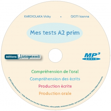 MES TESTS A2 PRIM CD